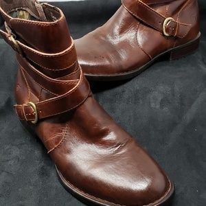 Born Brown Ankle boots